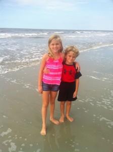 lauren and tyson beach